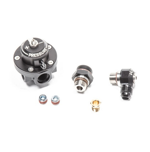 Radium Engineering DMR Black Fuel Pressure Regulator 8AN ORB - 20-0623-00