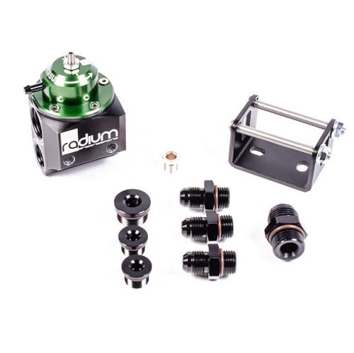 Radium Multi Port Green Fuel Pressure Regulator - 20-0100-01