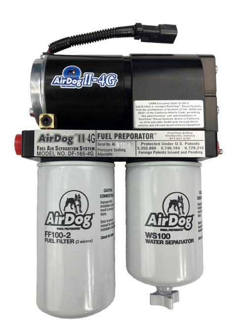 AirDog II-4G DF-165-4G Fuel Pump For 2011-2016 Ford Powerstroke 6.7L (Replace High Pressure Pump) - A6SABF489
