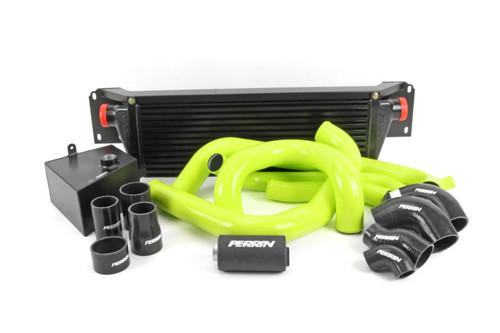 Perrin FMIC Pipe Kit (Neon Yellow) For 15-21 Subaru WRX - PSP-ITR-437-2NY/BK