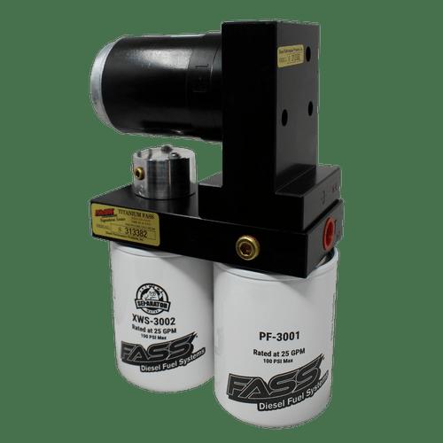 FASS Titanium Signature Series 220GPH Diesel Fuel Lift Pump For 17-19 Ford Powerstroke 6.7L - TS F18 220G