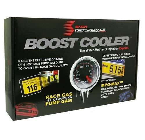 Snow Performance Stage 2.5 Boost Cooler Water-Methanol Kit For 2015+ Dodge Hellcat/Demon (Braided Line) - SNO-2171-BRD