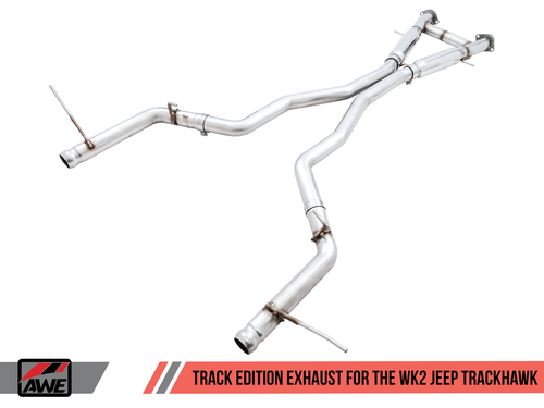 AWE Track Edition Catback Exhaust For 18-20 Jeep Trackhawk - 3020-31023