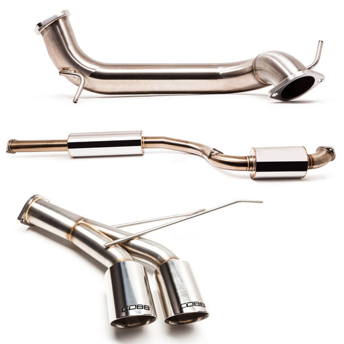 "Cobb 3"" Cat-Back Exhaust For 13-18 Ford Focus ST - 591100"