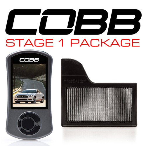 Cobb Stage 1 Power Package For 15-19 Ford Mustang Ecoboost - 6M1X01