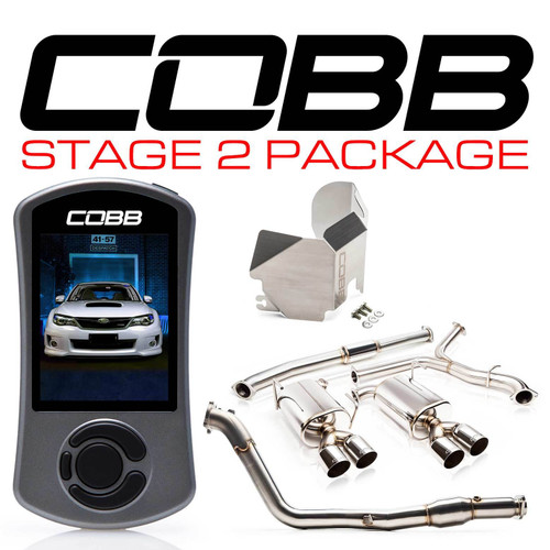 Cobb Stage 2 Power Package For 11-14 Subaru WRX - 615X92