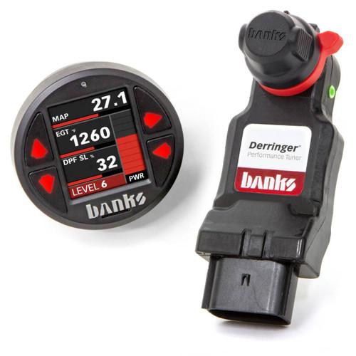 "Banks Power Derringer Tuner W/ 1.8"" iDash For 17-19 GM 2500/3500 6.6L Duramax L5P - 66792"