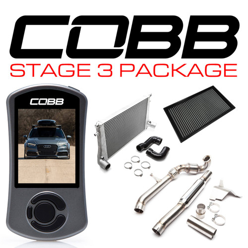 Cobb Stage 3 Power Package For 15-20 Audi A3 (8V) - VLK0027130-AA