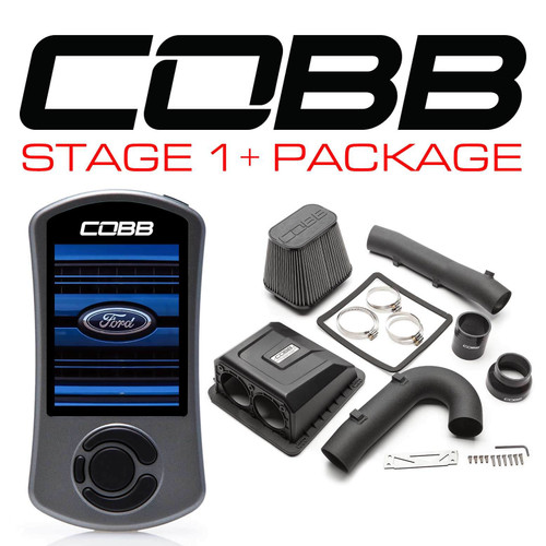 Cobb Stage 1+ Power Package With TMC For 17-20 Ford F-150 Limited/Raptor EcoBoost - FOR005001P-TCM