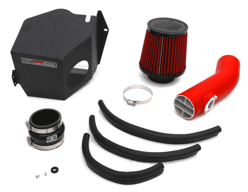 GrimmSpeed Cold Air Intake (Red) For 08-14 Subaru WRX/STI - 060053