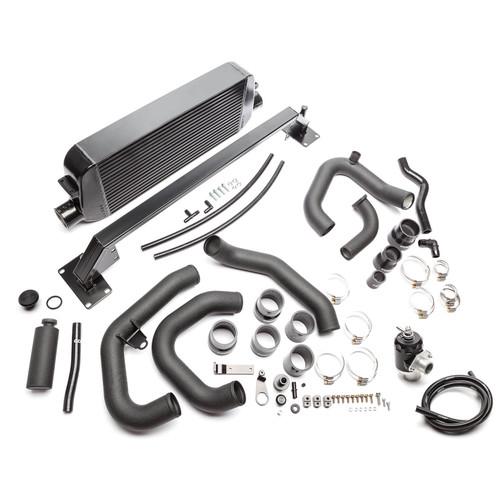 Cobb Front Mount Intercooler Kit (Black) For 15-20 Subaru WRX - SUBFMIC002BK