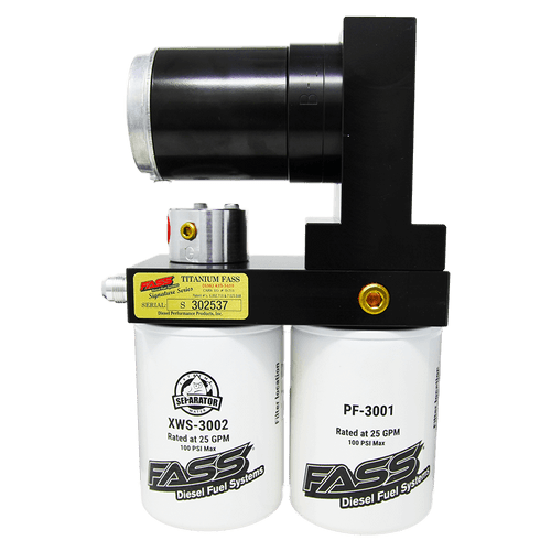 FASS 165GPH Titanium Signature Series Diesel Fuel Lift Pump For Dodge Cummins 5.9/6.7L - TS D07 165G