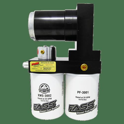 FASS 250GPH Titanium Signature Series Diesel Fuel Lift Pump For Dodge Cummins 5.9/6.7L - TS D07 250G