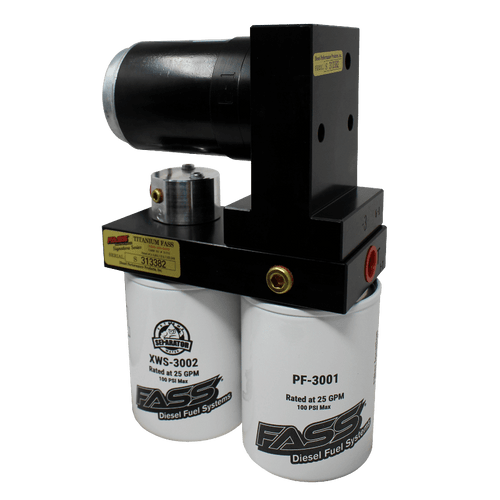 FASS Titanium Signature Series 140GPH Diesel Fuel Lift Pump For 17-19 Ford Powerstroke 6.7L - TS F18 140G