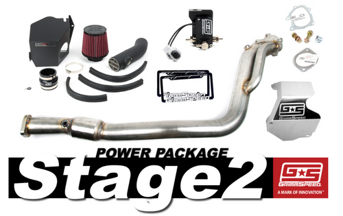 GrimmSpeed Stage 2 Power Package For 08-14 Subaru WRX (191002)