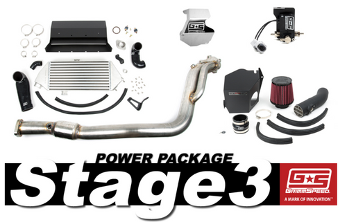 GrimmSpeed Stage 3 Power Package For 08-14 Subaru WRX (191003)