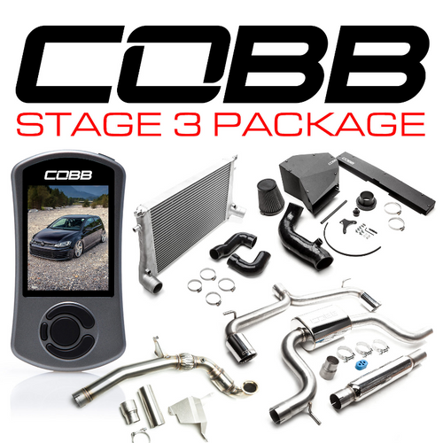 Cobb Volkswagen Stage 3 Power Package GTI (MK7) 15-17 USDM (VLK0020130)