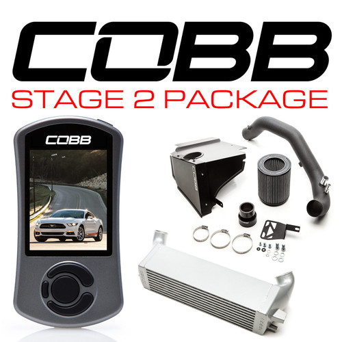 Cobb Stage 2 Power Package For 15-20 Ford Mustang Ecoboost - 6M1X02
