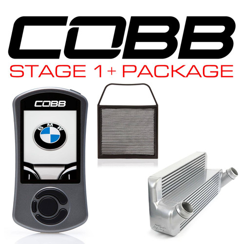 Cobb Stage 1+ Power Package Silver For 07-13 BMW 135i/335i (N54) - 6B1X31P-SL