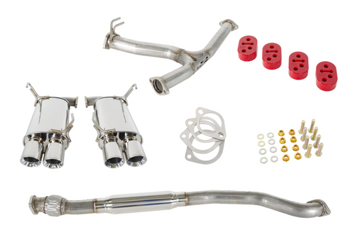 GrimmSpeed Catback Resonated Exhaust System 11+ Subaru WRX/STI Sedan - 070033