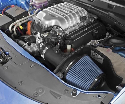 aFe 54-12802 Magnum FORCE Stage-2 Pro 5R Cold Air Intake For 15-16 Dodge SRT Hellcat 6.2L