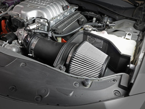 aFe Magnum FORCE Stage-2 Pro Dry S Cold Air Intake For 17-21 Dodge Hellcat 6.2L - 54-12852D