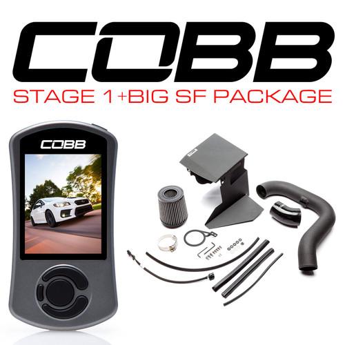 Cobb Stage 1 + Big SF Power Package 15-20 Subaru WRX - SUB0040W1P