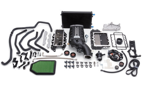 Edelbrock Stage 1 E-Force Supercharger Kit For 15-17 Jeep Wrangler JK 3.6L - 1528