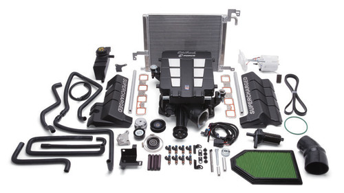 Edelbrock Stage 1 Supercharger Kit W/ Tune For 15-18 Dodge Challenger 6.4L HEMI - 15172