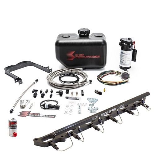 Snow Performance Stage 2.5 Boost Cooler Direct Port Water-Methanol Kit For BMW N54/N55 Engines - SNO-2169-BRD