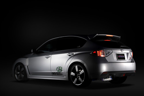 Tomei Expreme Ti Titanium Catback Exhaust for Subaru WRX Hatchback 11-14 / STI Hatchback 08-14 (TB6090-SB02B)