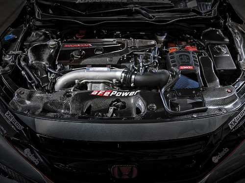 aFe TM-1025B-R Takeda Momentum Pro 5R Cold Air Intake For 17-19 Honda Civic Type R 2.0L