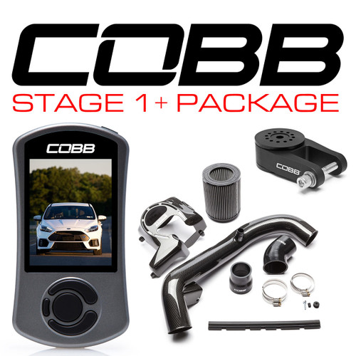 Cobb Stage 1+ Carbon Fiber Power Package For 16-18 Ford Focus RS - FOR004001P