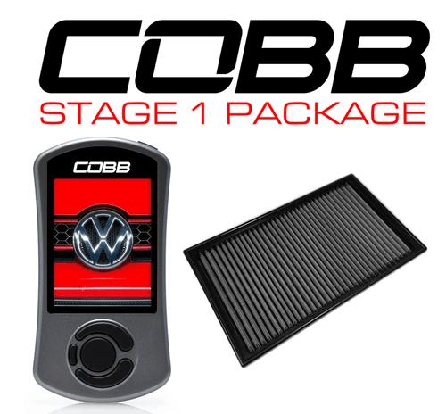 Cobb Stage 1 Power Package W/DSG Flashing For 19-20 Volkswagen Jetta (A7) - VLK0020010-DSG