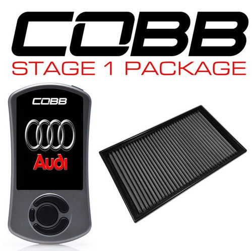 Cobb Stage 1 Power Package W/ DSG Flashing For 15-20 Audi A3 (8V) - VLK0020010