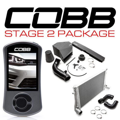 Cobb Stage 2 Power Package For 15-19 Volkswagen Golf R (MK7/MK7.5) - VLK0030020