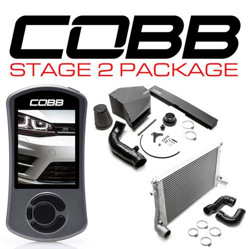 Cobb Stage 2 Power Package For 15-19 Volkswagen Golf R (MK7/MK7.5) - VLK0030020