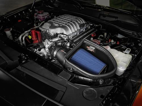 aFe Track Series CF Pro 5R Cold Air Intake For 2018 Dodge Demon 6.2L - 57-10001R