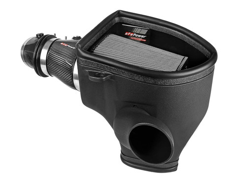aFe Track Series CF Dry S Cold Air Intake For 2018 Dodge Demon 6.2L - 57-10001D
