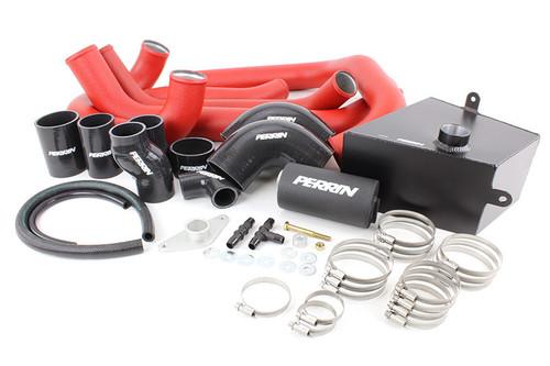 Perrin Boost Tube Kit (Red) For 2015-2019 Subaru STI (PSP-ITR-438-2RD/BK)