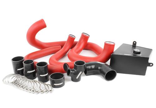Perrin FMIC Pipe Kit (Red) For 15-17 Subaru WRX - PSP-ITR-437-2RD/BK