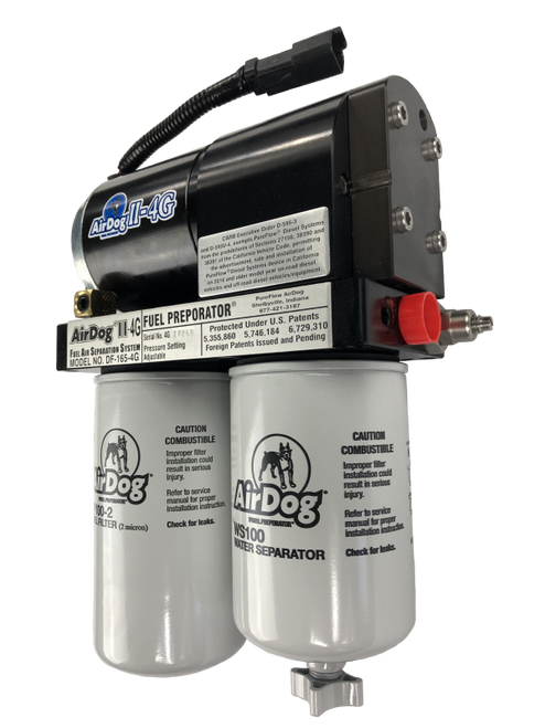AirDog II-4G DF-165 Fuel Pump For 11-14 Chevy Duramax - A6SABC410