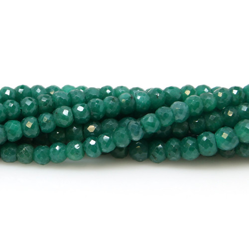 Faceted Emerald 4.5 mm
