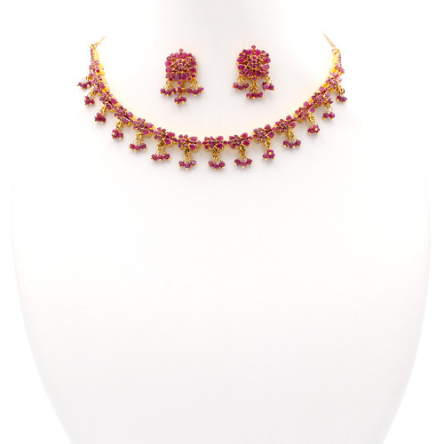 Romance Ruby & Gold Set
