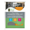 ECO HOME CLEAN & POLISH STAINLESS STEEL KIT