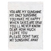 PAPER PRINT - YOU ARE MY SUNSHINE