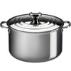 LE CREUSET TRI-PLY STAINLESS STOCKPOT 8.3l WITH PASTA INSERT