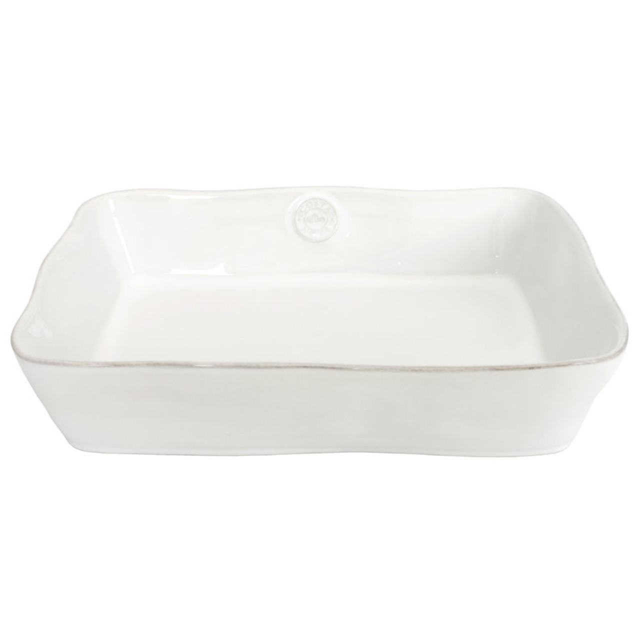 NOVA RECTANGLE BAKER 35cm - WHITE