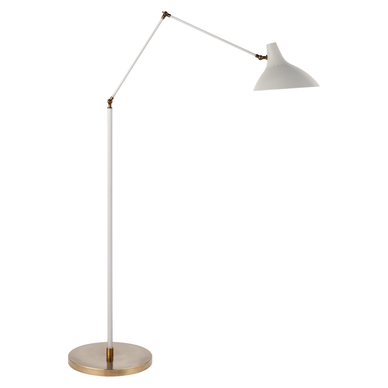 CHARLTON FLOOR LAMP - WHITE
