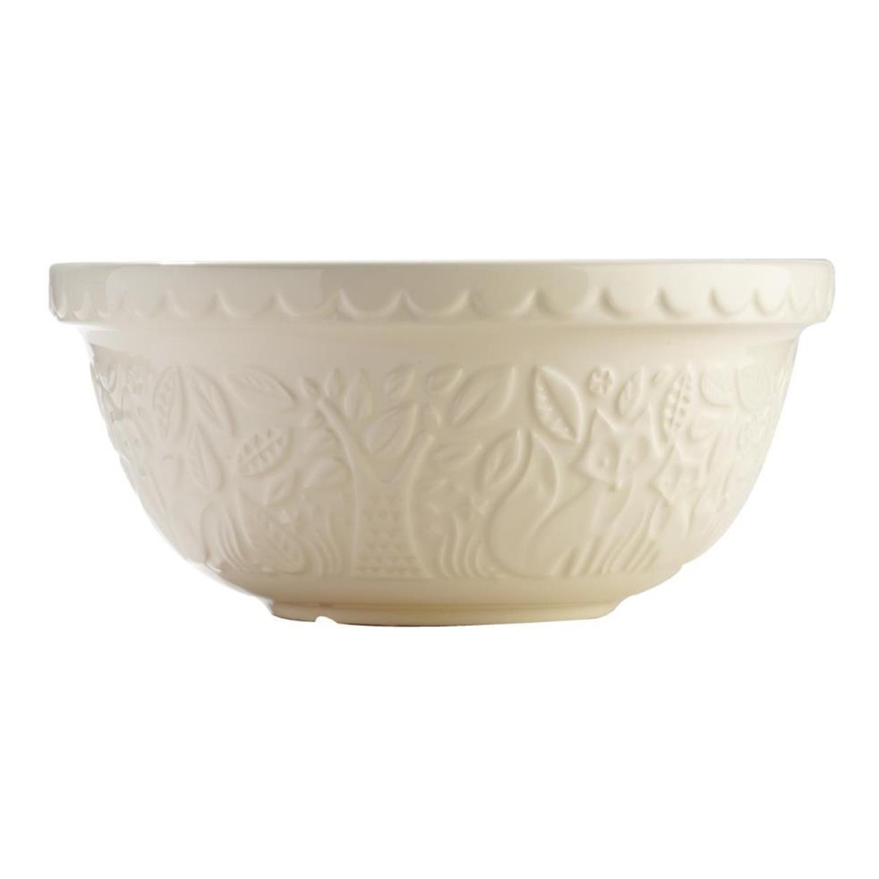 MASON CASH FOREST MIXING BOWL 29CM - CREAM